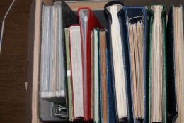 """(852) Riesen Inventur Kiste """"alle Welt """"ab Uralt -aus Diversen Nachlässen über 200 Bilder -nicht Alles Fotografiert ! - Vrac (min 1000 Timbres)"""