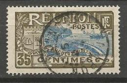REUNION N° 63  OBL CACHET LE TAMPON TB - Réunion (1852-1975)