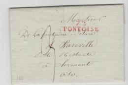 FP174 / FRANKREICH -  Pontoise 1811 Nach Clermont - 1801-1848: Precursori XIX
