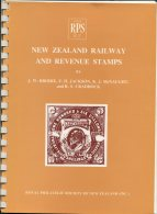 New Zealand Railway And Revenue Stamps - Brodie, Jackson, McNaught & Craddock (1979) - Railways