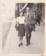 25856 Photo Belgique Sans Doute Femme Homme Couple Mariage De Bourseigne Neuve -Anvers ?  - Personnes Anonymes