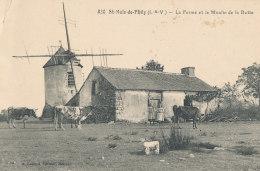 35 // SAINT MALO DE PHILY    La Ferme Et Le Moulin De La Butte   820  ** - France