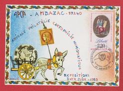 APCA --  Ambasac  9 Juin 1989 - Postmark Collection (Covers)