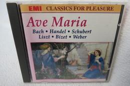 """CD """"Ave Maria"""" Bach, Händel, Schubert, Liszt, Weber - Classique"""