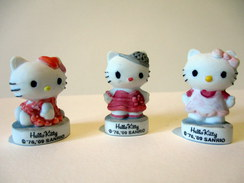 Fèves Mates - Lot De 3 Hello Kitty - Personnages