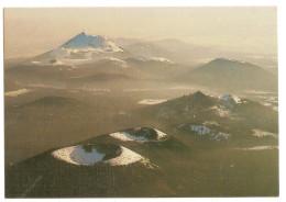 Les Volcans D'auvergne ( Dans Les Brumes Hivernales - Le Puy De Chaumont Et Le Puy Chopine , Au Loin ,le Puy De Dome - Auvergne