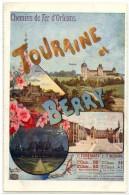 37 - CHEMIN DE FER D´ORLEANS - TOURAINE ET BERRY - France