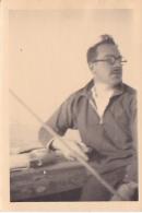 25885 Photo Belgique Anvers ? -bateau Yatch -marin Femme Couple Voilier Port - Daté 1943 -