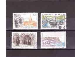 2657 2658 2659 2660    OBL  Y&T    « Série Touristique Complète »   *FRANCE*  15A/18 - Used Stamps