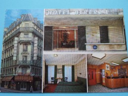 Hôtel ALBERT 1er  - Rue Lafayette PARIS () Anno 19?? ( Zie Foto Voor Details ) !! - Hotels & Restaurants