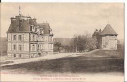 14 084 - NOTRE DAME DE COURSON - Chateau De Belleau Et Vieille Tour, Reste De L'ancien Moulin - Otros Municipios