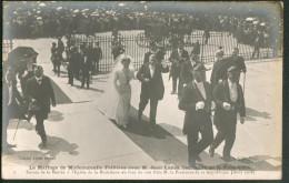 France -  Le Mariage De Mlle Fallières Avec M. Jean Lanes, Secrétaire De La Présidence (août 1908) - People
