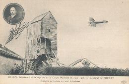 AVIATION )) HELEN  Sur Monoplan Nieuport, - Aviatori