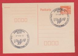 RDA  -- Postkarte 30/12/1986 - Postales - Usados
