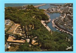 56 - BELLE ILE En MER - Vue Aérienne Sur Le Palais (Camping)municipal Et La Cité Des Glacis. CPSM  EDIT JACK - Belle Ile En Mer