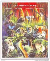 GAMBIE GAMBIA ANIMAUX DIVERS  LE LIVRE DE LA JUNGLE THE JUNGLE BOOK   12 V  NEUF**  0697 - Francobolli