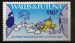 Wallis & Futuna 1987 N° 368 ** La Poste, Communication, Timbre Sur Timbre, UPU, Union Postale Universelle Oiseau Canaris - Nuovi