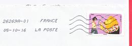 FRANCE - 2016 - DINDON DE LA FARCE - 26269A - 01  - Aix En Provence Cdis  05/10/16 - Cartas