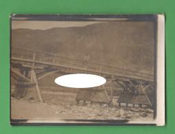 Belluno Militare Ponte Sul  Torrente Frassenè - War, Military
