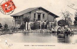 V4757 Cpa 76 Rouen - Gare Du Funiculaire De Bonsecours - Rouen