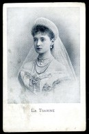 Cpa Russie La Tsarine Alexandra Feodorowna  JIP22bis - Russie