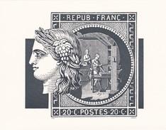 Atelier De Fabrication Du Timbre - Documents Of Postal Services