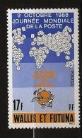 Wallis & Futuna 1988 N° 382 ** La Poste, Planisphère, Union Postale Universelle, UPU, Courrier, Lettre, Enveloppe - Nuovi