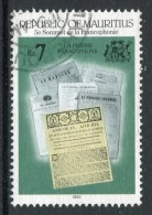 Mauritius 1993 5th Summit Of French-speaking Nations - 7r Value Used (SG 894) - Mauritius (1968-...)