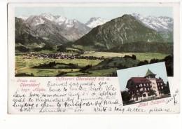 Allemagne - Gruss Aus Oberstdorf I. Bayr. Allgäu. - Luftkurort Oberstdorf 812 M. Hotel Luitpold - Oberstdorf