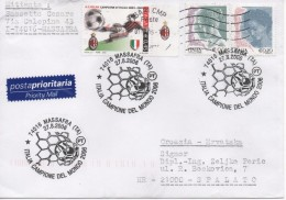 Italy, Football, World Champions 2006, Priority Mail