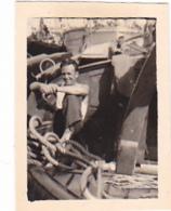 25933 Lot 8 Photos Belgique Anvers Antwerpen ? -bateau Yatch Regate Marin Femme Couple Voilier - Année 40-50 - Bateaux