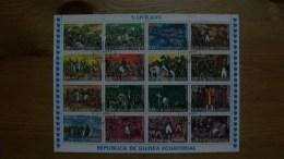 """S.09.10.01.GUINEA ECUATORIAL.""""NAPOLEON"""" - Etichette Di Fantasia"""