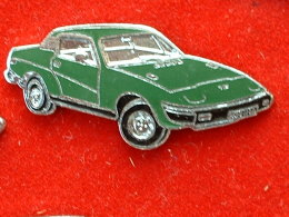 PIN´S TRIUMPH TR7 - VERTE  - EMAIL - Pin