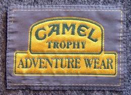 Patch Écusson Tissu - CAMEL Trophy - Adventure Wear - Ecussons Tissu