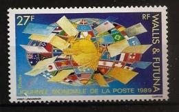 Wallis & Futuna 1989 N° 391 ** La Poste, Timbre Sur Timbre, UPU, Union Postale Universelle, Allemagne, Brésil, Russie - Nuovi