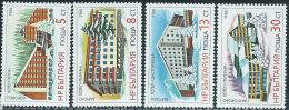 Bulgaria 1988 Nuovo** - Mi.3717/20  Yv.3216/9 - Bulgaria