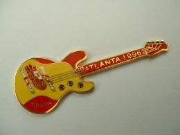 PIN´S GUITARE - J.O ATLANTA 96 - SPAIN - Music