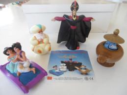 Lot 4 Personnages Aladdin Disney Mc Donald's 1993 - Disney