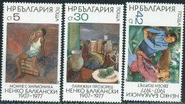 Bulgaria 1984 Nuovo** - Mi.3286/8  Yv.2860/2 - Bulgaria