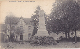 La Commune D'Erezée A Ses Martyrs 1914-18 (monument Aux Morts, Desaix) - Erezée