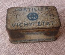 VECCHIA SCATOLA IN LATTA DELLA VICHY - ETAT PASTILLES - - Boxes