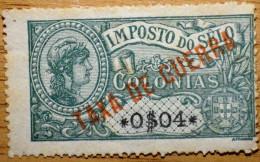 Portugal Colónias - Imposto Do Selo - Taxa De Guerra 0$04 - War Taxes - Gebruikt