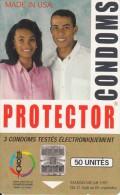 MADAGASCAR - Protector Condoms(50 Units, Logo In Corner), Used - Madagaskar