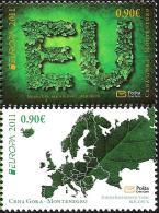 Montenegro - 2011 - Europa CEPT - Forests - Mint Stamp Set - Montenegro