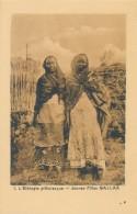 CPA ETHIOPIE L'Ethiopie Pittoresque - Jeunes Filles Gallas - Ethiopia
