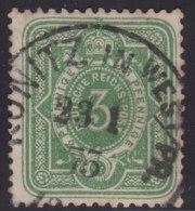 Deutsches  Reich         .         Michel    31             .               O              .          Gebraucht - Allemagne