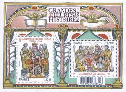 """Le Feuillet F4943 """"LES GRANDES HEURES DE L'HISTOIRE DE FRANCE"""" Luxe Bas Prix, A SAISIR. - Nuovi"""