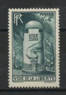 FRANCE -  VOIE DE LA LIBERTÉ - N° Yvert  788** - Unused Stamps
