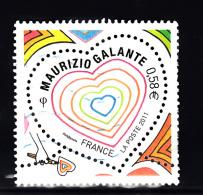 France 2011 Mi Nr 5021 Valentijnsdag  Maurizio Galante - France