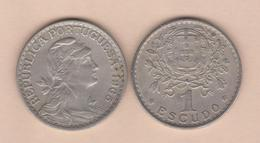 PORTUGAL  1 ESCUDO 1.965 1965  ALPACA / CU-NI  KM#578  MBC/VF  T-DL-11.883 - Portugal